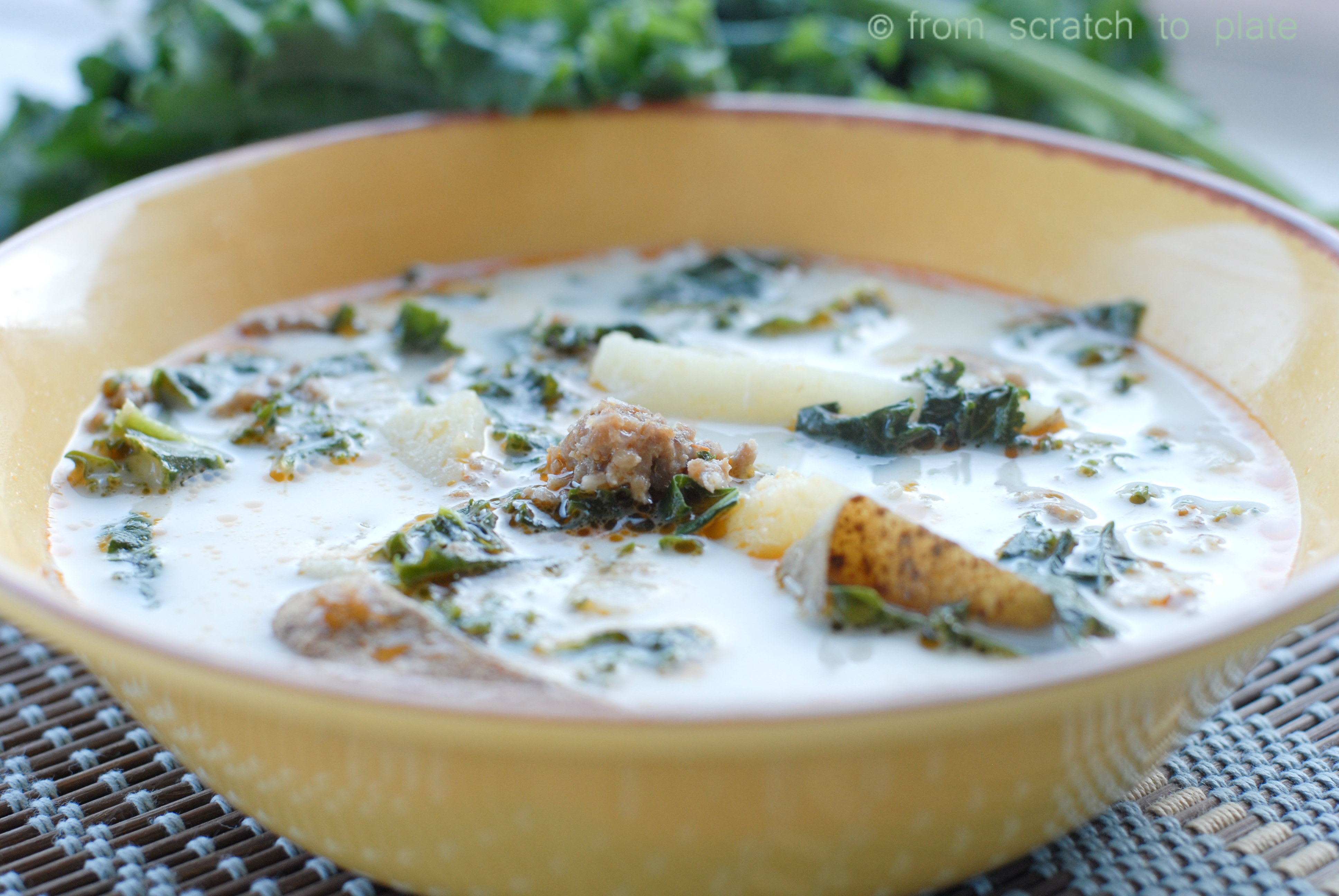 Zuppa Toscana Soup Recipe — Dishmaps