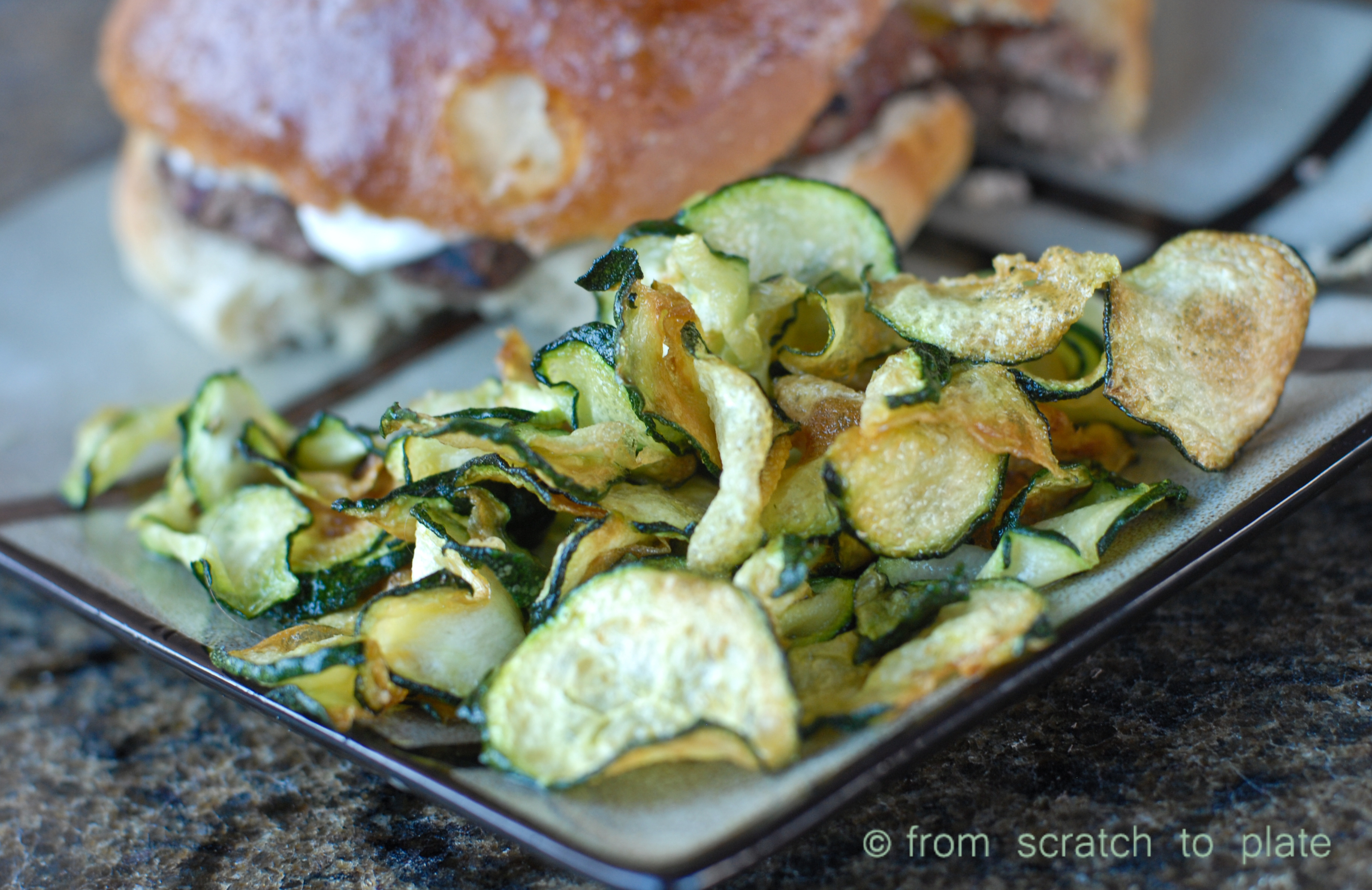 Zucchini Chips   fromscratchtoplate