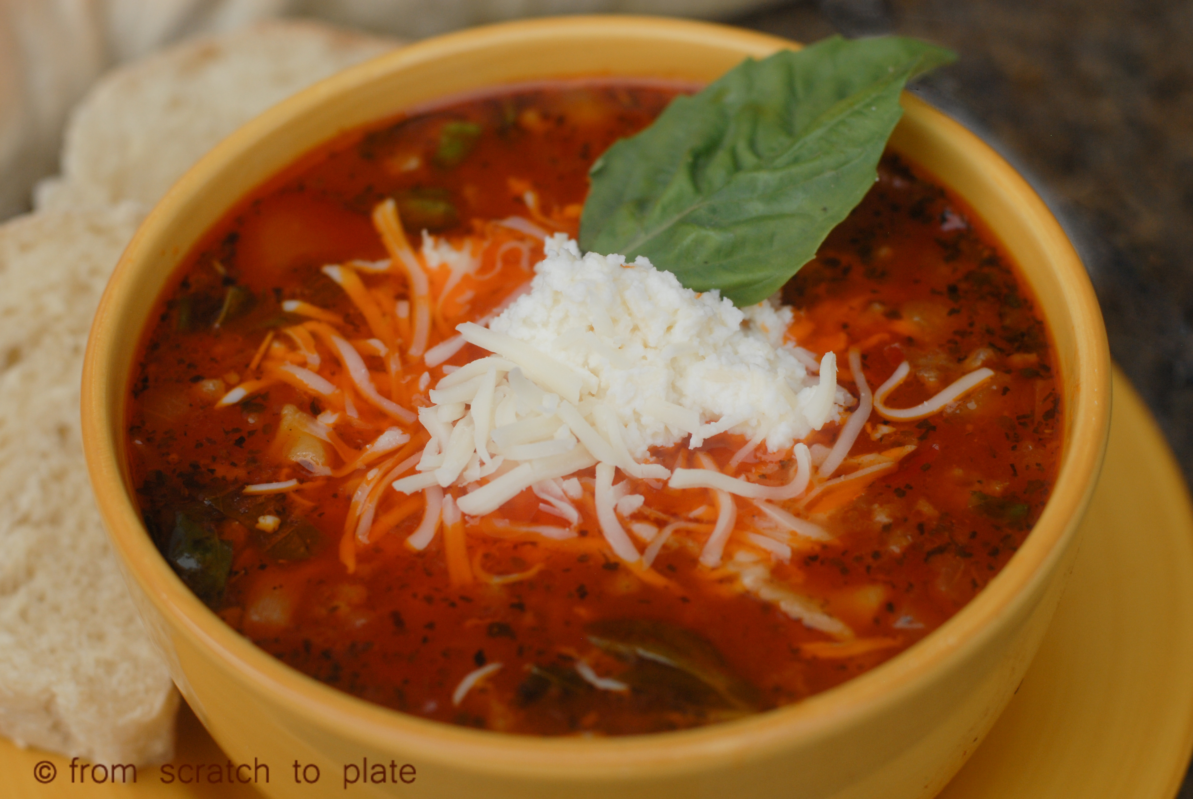 Lasagna Soup | fromscratchtoplate