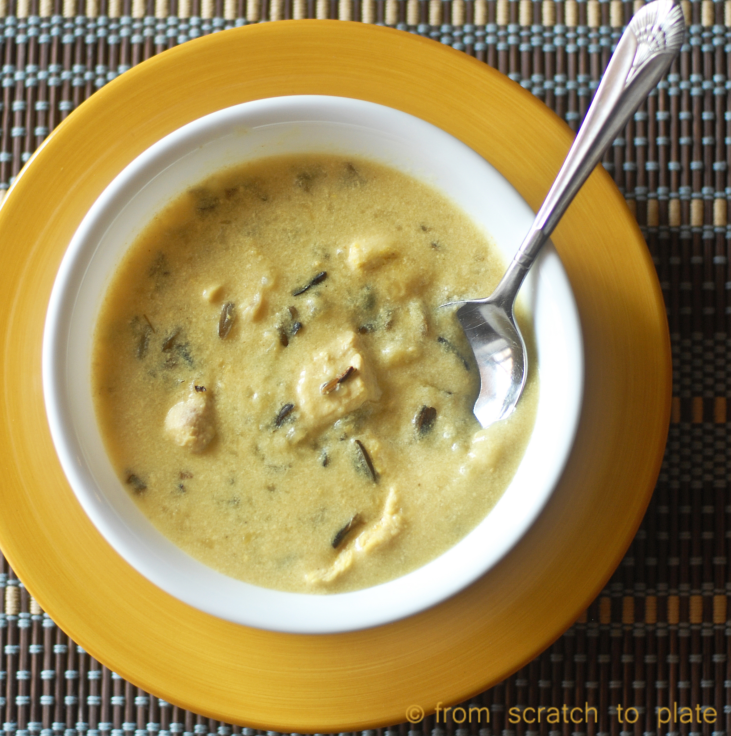 Real Food Remake: Creamy Chicken and Wild Rice Soup (Slow ...