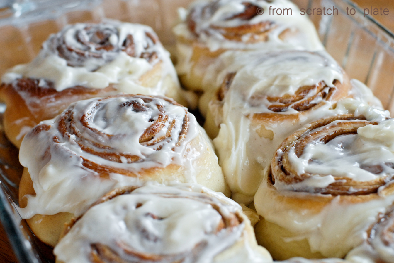 Gooey Homemade Cinnamon Rolls. Step-by-step instructions.